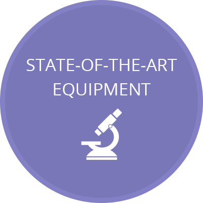 State-Of-The-Art Equipment